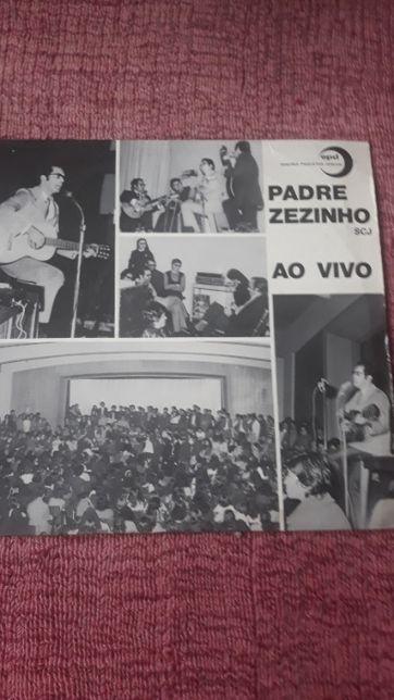 Padre Zezinho ao Vivo em Portugal - LP Vinil