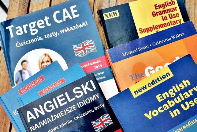 Język angielski - korepetycje (online lub face to face)