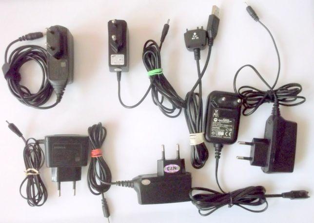 ŁADOWARKI do starych telefonów komórkowych Zestaw