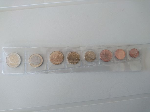 Coleção / Colecção Moedas Euro ANDORRA ( especial )