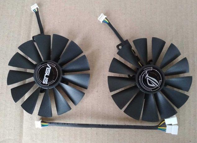 Вентиляторы 95мм Asus dual strix rx 470 480 580 t129215sm FDC10M12S9-C