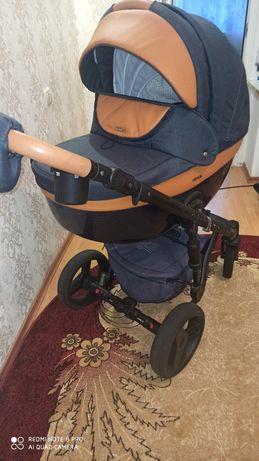 Продам Дитячу універсальну коляску  2в1 Adamex Monte Deluxe Carbon