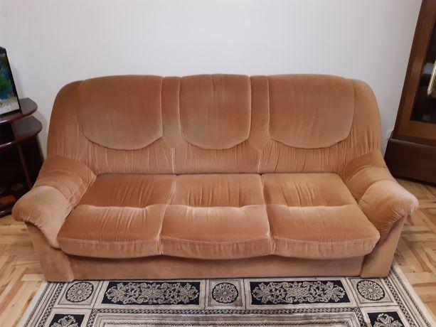 Sofa 3-osobowa, 2-osobowa, fotel