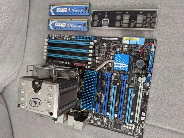 płyta Asus P6X58D-E socket 1366 procesor core i7 970 ram 8gb
