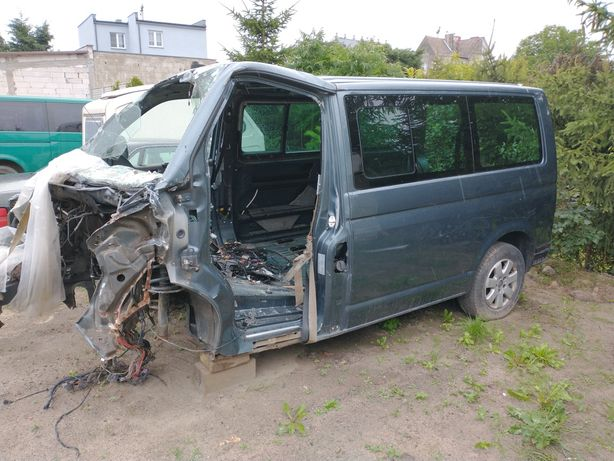 VW Volkswagen Caravelle T5 Transporter Uszkodzony