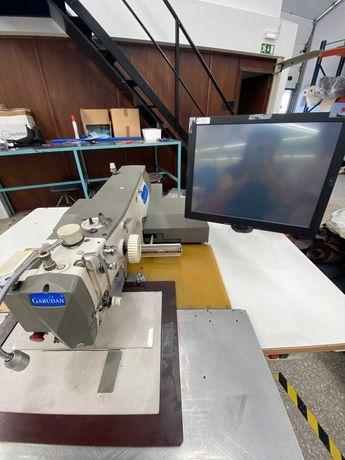 Máquina de costura para calçado automática!