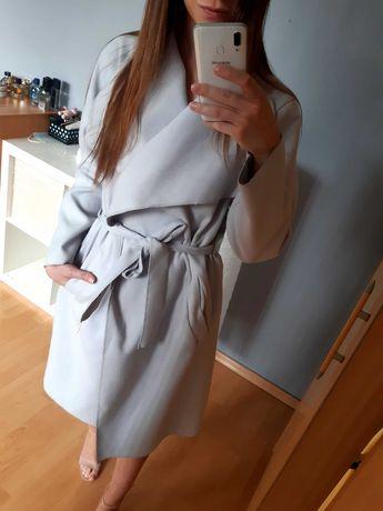 Płaszcz trencz szlafrokowy