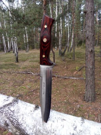 Muela Ekskluzywny Nóż Myśliwski Full Tang ,Survivalowy ,Bushcraftowy