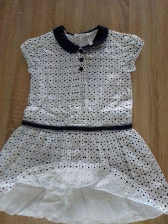 Sukienka 116 dla dziewczynki