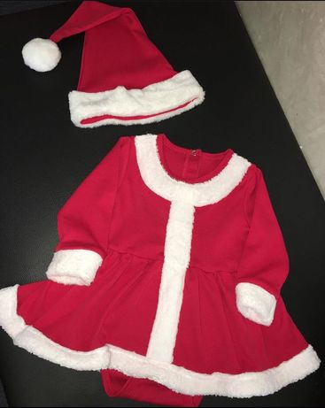 Костюм деда Мороза, новогодний наряд, наряд на новый год