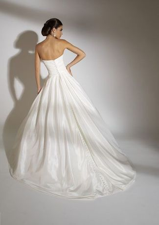 Suknia ślubna Eternity Bride model D4030 rozmiar 34/36