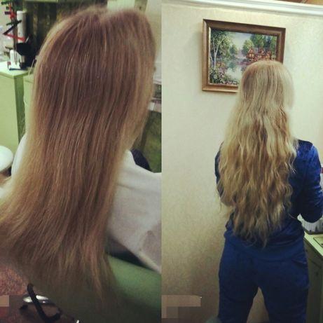 Наращивание, продажа волос.