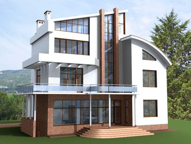 Архитектор - проект дома, визуализация, 3D модель.
