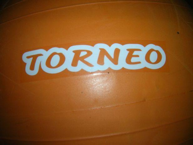 ФИТБОЛ TORNEO диам.75см с насосом оранжевый