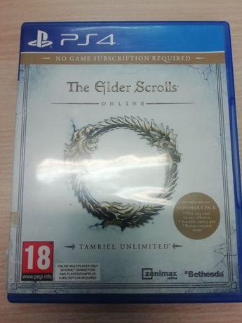 The elder Scrolls Online PS4 Playstation 4