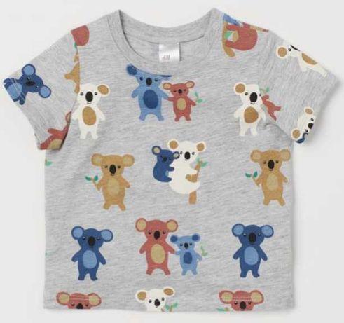 Nowy t-shirt dziecięcy r. 86