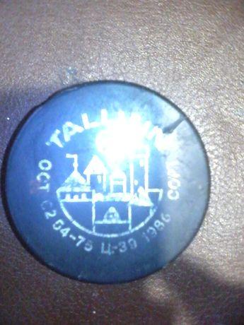 Хоккейная шайба Таллинн 1986 год