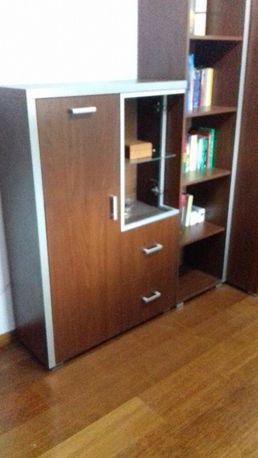 Komplet meble młodzieżowe meblościanka szafa biurko biblioteczka