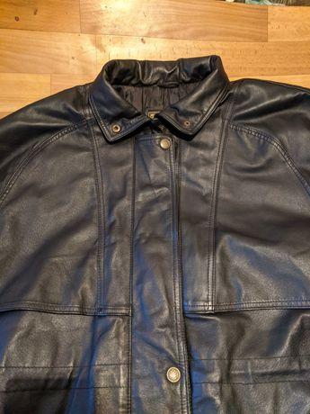 Продам женскую кожаную куртку Gallucci фирменная большого размера