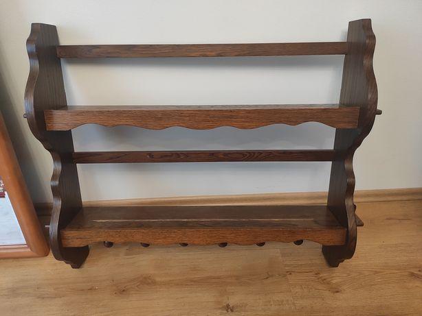 Półka drewniana, regał wiszący