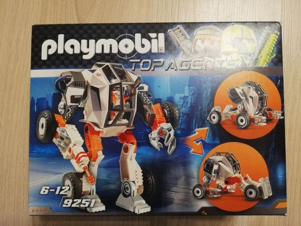Nowy zestaw Playmobil 9251 Top Agents MECH