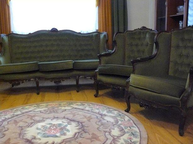 Sprzedam stylową kanapę plus dwa fotele Ludwik