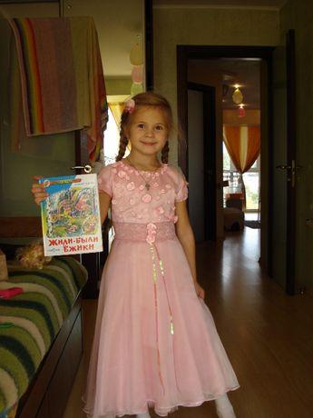 Платье на выпускной для девочки 7-8 лет