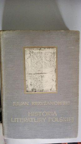 Historia literatury polskiej Krzyżanowski