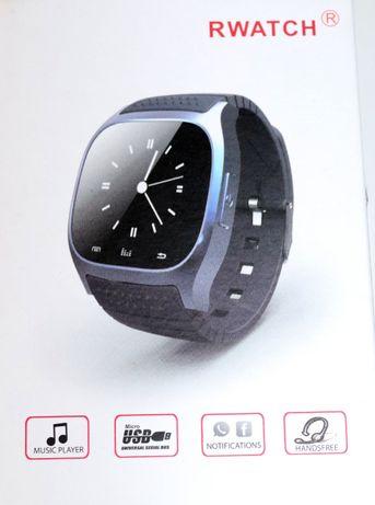 RWATCH M26 Smart Watch com LED e Bluetooth [Azul]