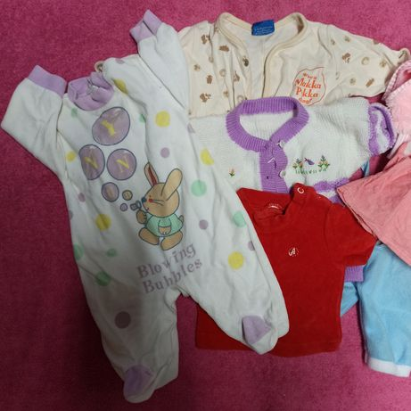 Одежка для куклы пупса 8 вещей
