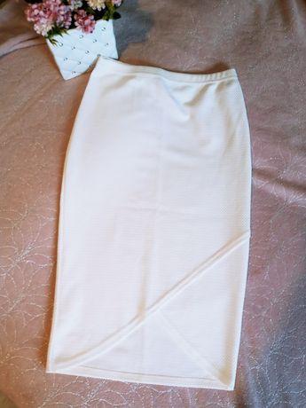 Spódnica damska nowa biała M