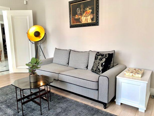 Sprzedam super elegancki komplet - sofa 3osobowa + fotel Coco!Okazja!