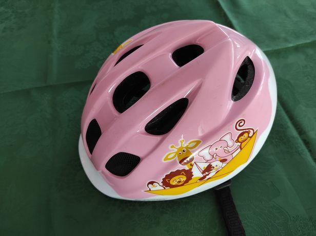 Kask rowerowy dziecięcy dla dziewczynki