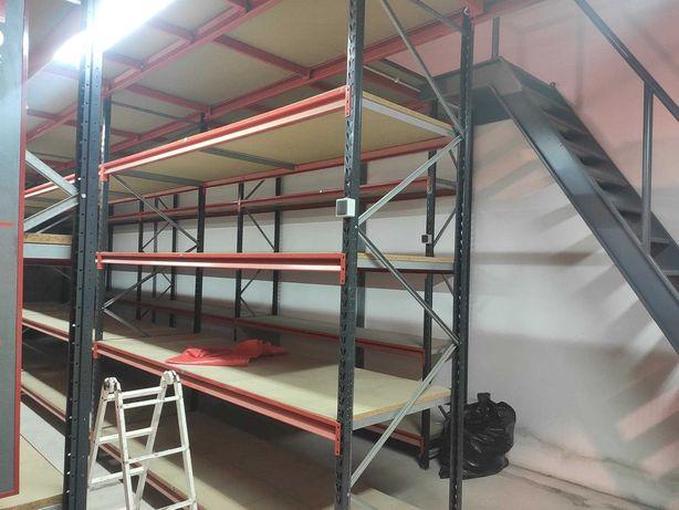 Estantes metálicas / racks carga pesada