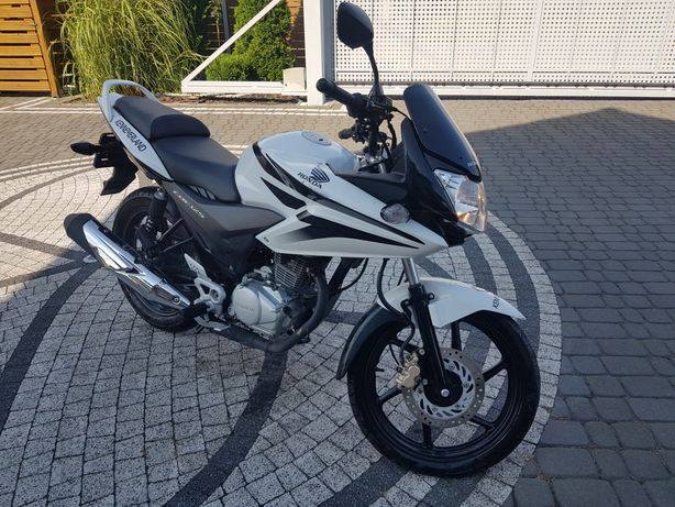 Honda cbf 125 faktura VAT 23% honda 125 cbf kat- B transport