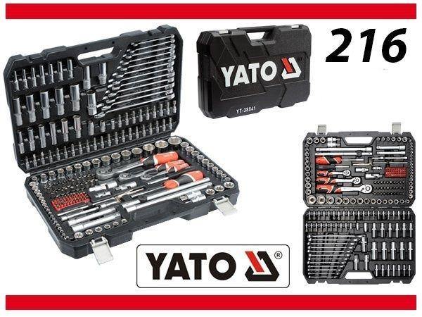 Набор инструмента YATO 3884 1 216 ел Польща! Оригинал!