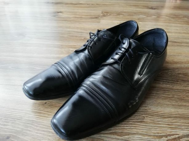 Półbuty,buty skórzane męskie.Rozmiar 43