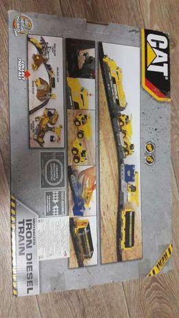 конструктор железная дорога cat iron diesel train