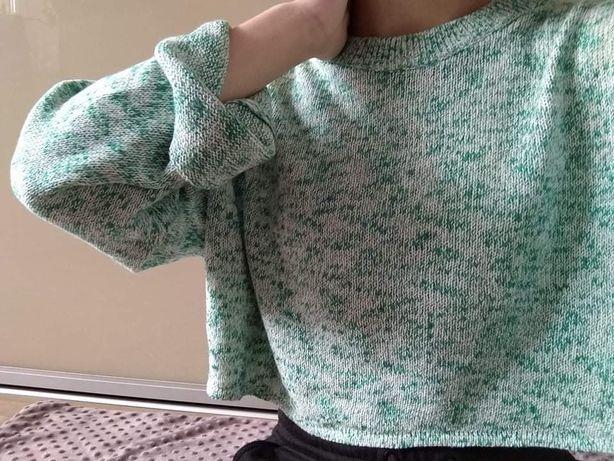 Krótki sweterek H&M rozm M nowy