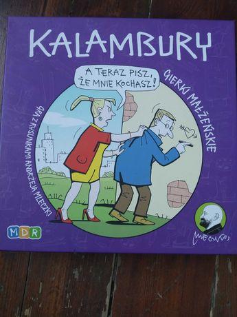 Kalambury gierki małżeńskie Gra towarzyska