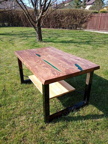 Stół drewno jesion stare deski
