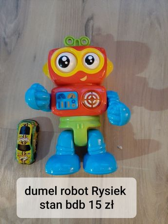 Zabawki dla dziecka robot Rysiek Dumel
