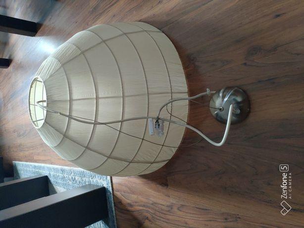 Lampa, żyrandol z kloszem okazja.