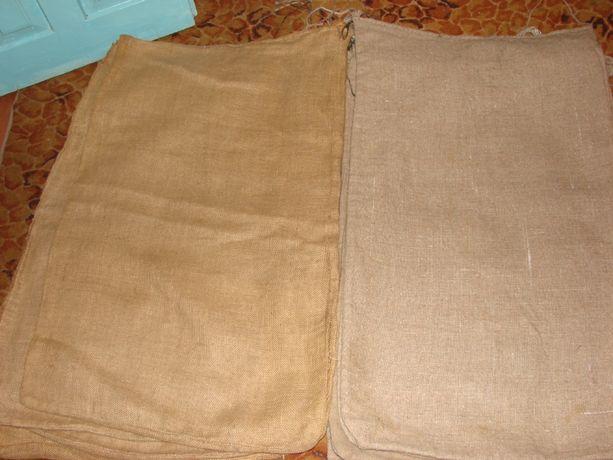 Мешки джутовые из мешковины