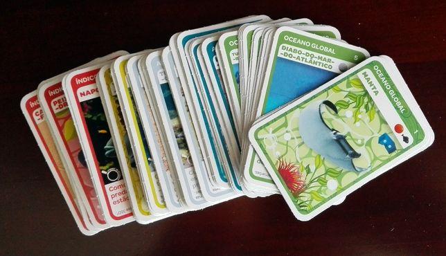 3 Colecções de Cromos Pingo Doce