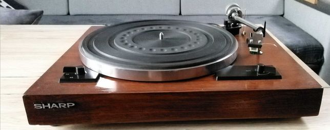Gramofon SHARP (naturalne drewno)