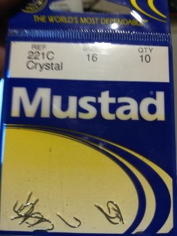 Haczyk Mustad Classic Crystal 221C .nr 16