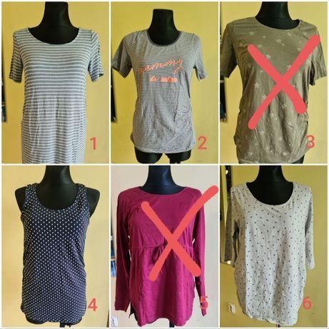 Ubrania ciążowe, bluzki, spodnie, bluza, spodenki M-XL