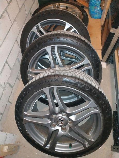 Felgi Honda THUNDER, opony Continental PremiumConatact 6 225/40R18 92Y