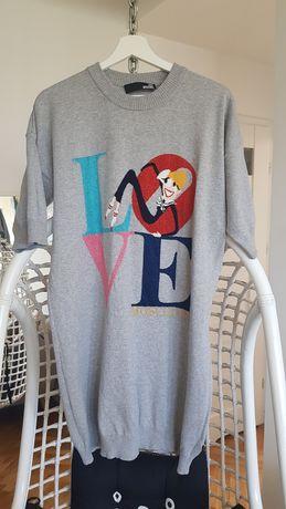 Love Moschino sukienka tunika L lub oversize
